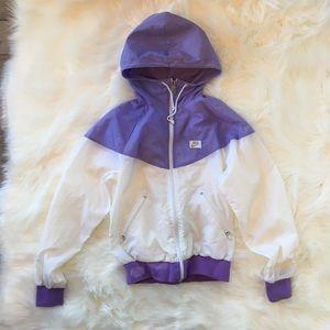 Nike Track Jacket with Full Zipper Pockets Hood